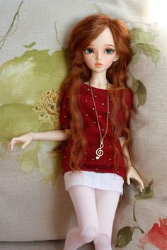 Dollfairyland MiniFee Chloe - Something like this is what I like my C to be. Not exactly but Irish looking girl..
