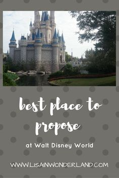 Best Places to propose at Walt Disney World | Lisa in Wonderland