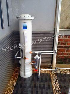 Pemasangan Filter Penjernih Air di Depok. Tipe penyaring air adalah HYDRO 4000 dengan masalah air kuning dan berbau besi.