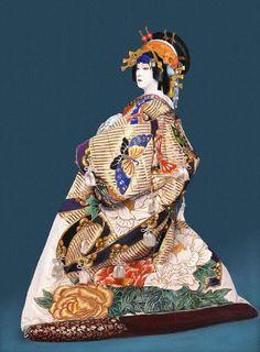 Bando Tamasburo, male Kabuki legend by Kishin Shinoyama.