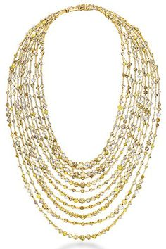 De Beers Arpeggia Collection Necklace, price upon request, available at De Beers.