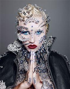 """Candyland"" | Model: Brooke Candy, Photographer: Richard Burbridge, Paper Magazine, September 2014"