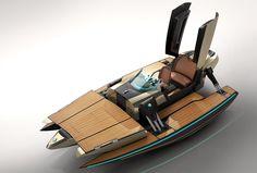 Luxury Convertible Boat Concept Kormaran