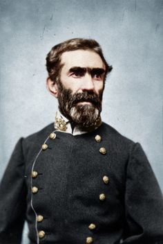 Braxton Bragg, general in the Confederate States Army—a principal commander in the Western Theater of the American Civil War and later the military adviser to the Confederate President Jefferson Davis.