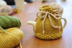 knitted tea cosy: Knit in Public Tea Cosy on the LoveKnitting blog