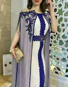 The bey's kaftan African Fashion Dresses, African Dress, Fashion Outfits, Kaftan Style, Caftan Dress, Arab Fashion, Indian Fashion, Morrocan Dress, Abaya Mode