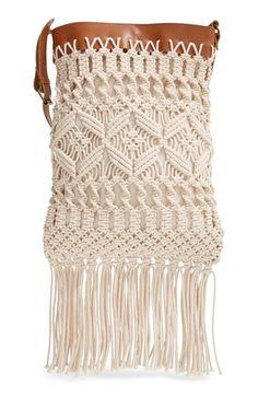 Straw Studios Crochet Crossbody Bag available at #Nordstrom
