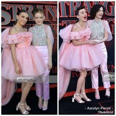 Who wears it better? Millie and Sadie or Finn and Noah - New Ideas Stranger Things Actors, Bobby Brown Stranger Things, Stranger Things Have Happened, Stranger Things Quote, Stranger Things Aesthetic, Stranger Things Netflix, Stranger Things Season, Stranger Things Costumes, Eleven Stranger Things