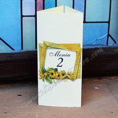 Invitatii Creative: Floarea soarelui a venit la www.invitatiicreative.com! Pillar Candles, Art, Craft Art, Kunst, Gcse Art, Art Education Resources
