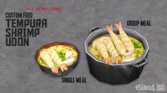 Tempura Shrimp by ohmysims at Mod The Sims via Sims 4 Updates