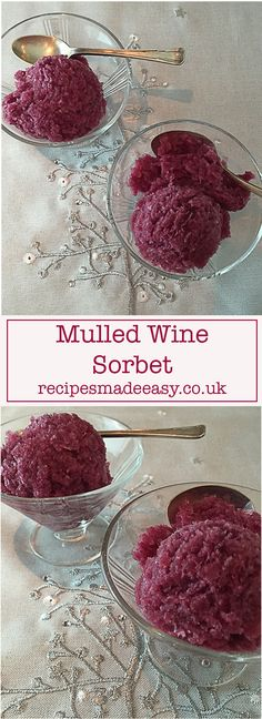 If you think mulled wine is for Winter only think again. This easy dessert made from mulled wine can be enjoyed anytime of the year. Best Christmas Recipes, Christmas Fun, No Bake Desserts, Easy Desserts, Mulled Wine, Sorbet, Gelato, Great Recipes, Alcohol