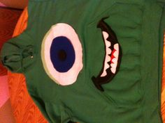 Monsters inc. costume. mike wisowski!