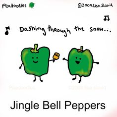 Ok, ok, you can start playing Christmas music now if you want! Veggie Jokes, Vegetable Puns, Food Puns, Food Humor, Music Puns, Music Quotes, Funny Christmas Puns, Play Christmas Music, Funny Note