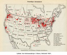 Finns in America (and Canada)  1931