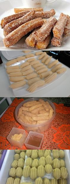 Delicious Churros Recipes Online is under construction Wine Recipes, My Recipes, Sweet Recipes, Snack Recipes, Dessert Recipes, Favorite Recipes, Desserts, Mexican Snacks, Mexican Food Recipes