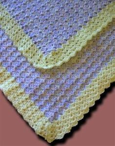 shell baby afghan