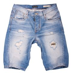 Bermuda man ANTONY MORATO model SHORT SONNY. Cotton Shorts with tears on the front, great for the summer.