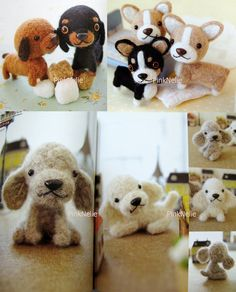 Needle Felting Puppies Japanese Craft Book by PinkNelie on Etsy