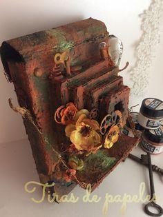 Diy vintage camera Rust, Diy, Vintage, Mini Albums, Beds, Photos, Bricolage, Vintage Comics, Handyman Projects