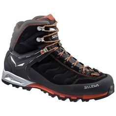 Salewa Mountain Trainer Mid GTX boots are classic, medium-high boots for via ferrata, technical hiking and trekking. Their Gore-Tex® waterproof, breathable linings ensure dryness and comfort. Gore Tex Hiking Boots, Gore Tex Boots, Backpacking Boots, Trekking Gear, Trail Running Shoes, Hiking Shoes, Camping Outfits For Women, Men Hiking, Outdoor Outfit