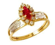 Anel formatura relações publicas em ouro 18k 750 com 10 diamantes de 1 ponto cada e 1 pedra rubi natural central