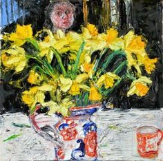 Daffodils and Chinese Cup - Shani Rhys James