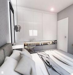 Wystrój wnętrz - Sypialnia - pomysły na aranżacje. Projekty, które stanowią prawdziwe inspiracje dla każdego, dla kogo liczy się dobry design, oryginalny styl i nieprzeciętne rozwiązania w nowoczesnym projektowaniu i dekorowaniu wnętrz. Obejrzyj zdjęcia! - strona: 15