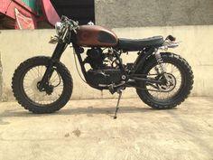 1980 KZ200 custom motorcycle for sale