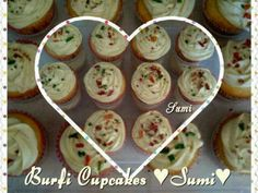 Burfi Cup Cakes