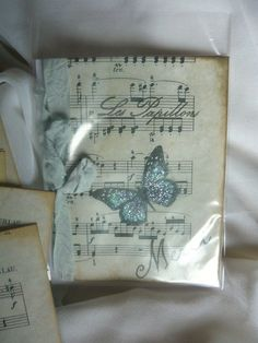 Les Pappillon Collection Butterflies Handmade by LeFrenchChateau, $5.50