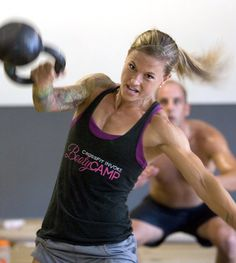 Shes badass.. I am about to start crossfit. Now I just need a sleeve tat