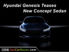 Hyundai Genesis Teases New Concept Sedan; Will Debut on March 23.