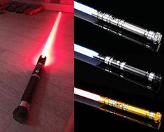 Skywalker Lightsaber, Lightsaber Hilt, Star Wars Light Saber, Lock Up, Marketing And Advertising, Color Change, Stars, Colors, Etsy