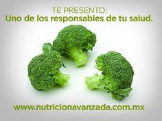 Brócoli, uno de los responsables de tu salud.