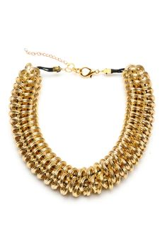 Amrita Singh Hypnos Necklace In Gold - Beyond the Rack