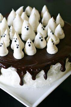 Ghost Cake #halloween