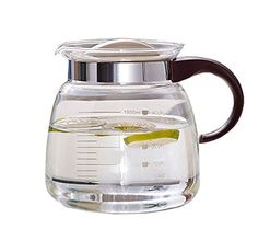 Dealglad 1800ml047gal Heat resistant Glass Teapots Water Pot Coffee Juice Kettle Stove Glass Pot Tea Jug Tea Jug Office Kitchen Drinkware ** To view further for this item, visit the image link.Note:It is affiliate link to Amazon. #loving