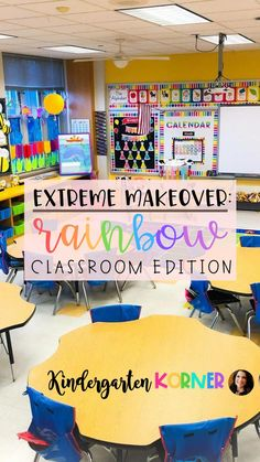 Step Into My Colorful Kindergarten Classroom. I'll be giving you a peek into my space that is all things RAINBOW!  If you love ROYGBIV goodness as much as I do, then this blog post is for you.  I'll give you my top 5 tips for designing the room of your dreams including classroom decor, border selection, organization, bulletin boards, and so much more!