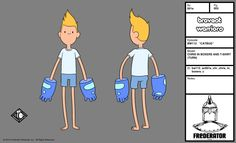 Chris Kirkman from Bravest Warriors only on Cartoon Hangover Character designs from Moo-Phobia, Cereal Master and Catbug -Cade