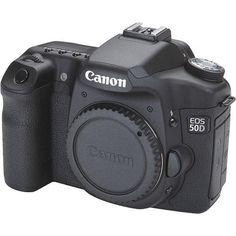 Canon - Canon EOS 50D 15.1 MP Digital SLR Camera (Body Only)