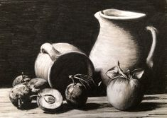 In this class, learn how to use 2 charcoal pencils and a toned ground to create a classic, high-contrast still life drawing. You'll learn how to quickly and easily adjust your reference photograph so that you can easily see and render shadow shapes and highlights. You'll also revisit the 'basic shapes' technique for drawing our your subject matter by eye.