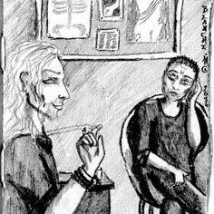 """""""Le Sang des Wolf"""" - Chapitre X (1) L'inspecteur Terwull en grande conversation avec son consultant"""