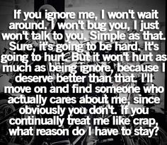 pretty much to this point with everyone in my life. friends, family, and guys included.