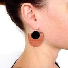 My Mod Drop Earring - Black