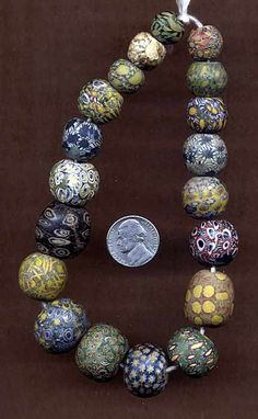 A fantastic collection of ancient Indonesian Pelangi / Jatim Beads | Price on Request ~ raoulcarr@yahoo.com
