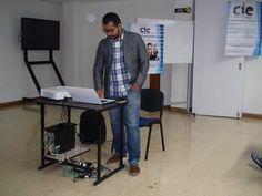 Hoy nos acompaña Cristian Castañeda Gerente de Cies consultores orientando el taller Declaración de renta en ESCOLME