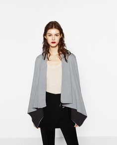 Image 2 of DOUBLE-FACED POINTED JACKET from Zara