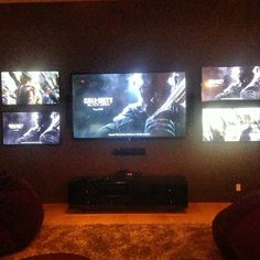 Xbox is better when everyone has their own TV #noexcuses #cod