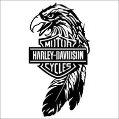 Harley Davidson Eagle Product Laptop Car Truck Vinyl Decal Window Sticker PV229
