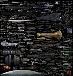 ARCA - Todas las naves espaciales de ciencia ficción en un solo póster - ARCA